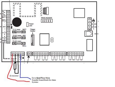 adt alarm box wiring diagram alarm der wiring