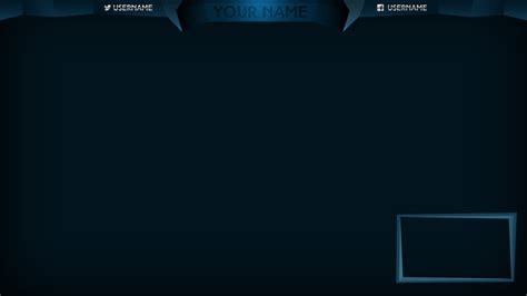 14 custom twitch overlays psd images twitch overlay