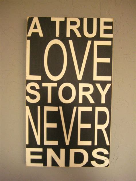 signs of true love a true love story never ends distressed subway by