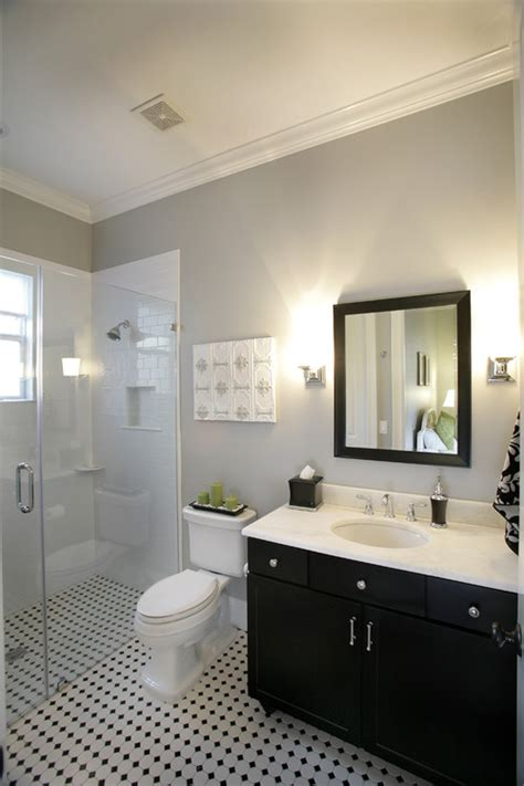 Same Bathrooms by Sherwin Williams Silverplate Paint Color A Beautiful