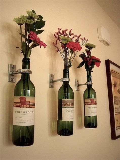 Home Goods Vases Dishfunctional Designs Glass Bottles Upcycled