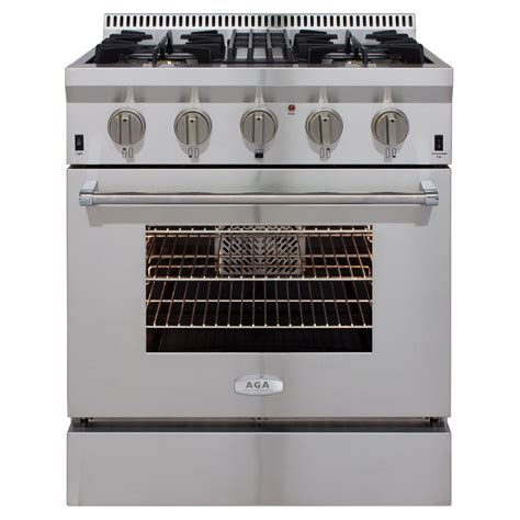 Oven Gas Convection aga professional gas range with rapidbake convection