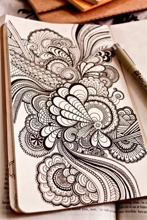 cool doodles 25 eye refreshing doodles designs exles creativedive