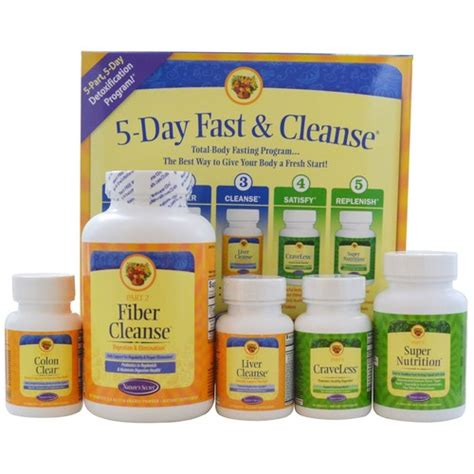 Ultimate Detox Cleanse by Nature S Secret Ultimate Fasting Cleanse Kit 1 Kit