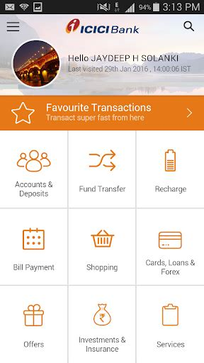 icici bank mobile icici mobile banking imobile android apps apk