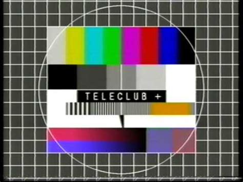 test pattern youtube teleclub test pattern in the 90 s youtube