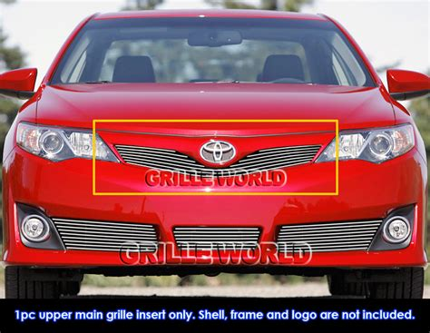 Toyota Camry Se 2012 Accessories Fits 2012 2014 Toyota Camry Se Billet Grille Grill Insert