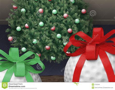 golf ball xmas tree royalty free stock photos image 2702248