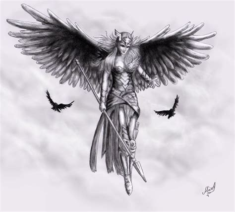 valkyrie tattoo designs zu valkyrie auf wikinger tattoos