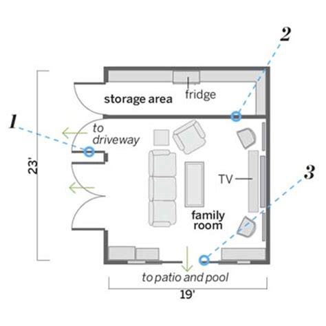 rec room floor plans what they did from garage to comfy rec room this house