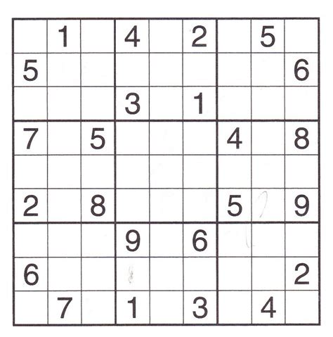 printable holiday sudoku 10 best images about sudoku puzzle on pinterest brain