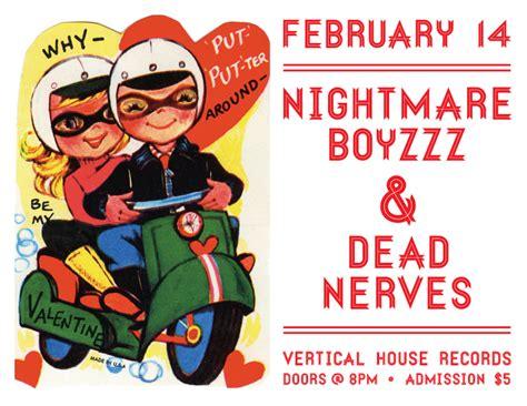 vertical house records 2 14 nightmare boyzzz dead nerves vertical house records 9pm vertical house