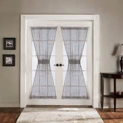 Lush decor antique gray 72 inch french door panels set of 2 free