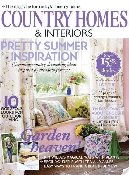 country homes interiors magazine magazine review country homes and interiors june 2010 bright bazaar by will