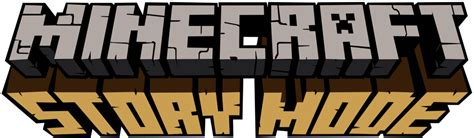 minecraft story mode minecraft story mode logo remake by minecraft logan1 on