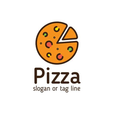 Buy Pizza Logo Design Template For Any Italian Or Pizza Business From Restaurant Cafe To Street Pizza Logo Design Template