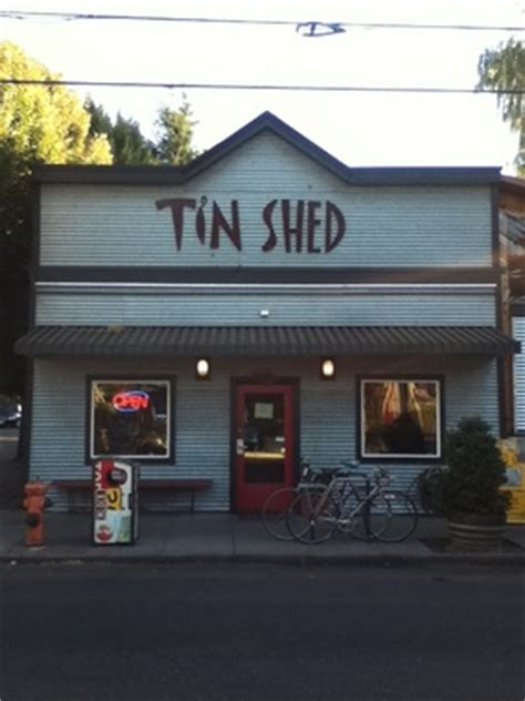 Portland Tin Shed by Tin Shed Garden Cafe Portland Or