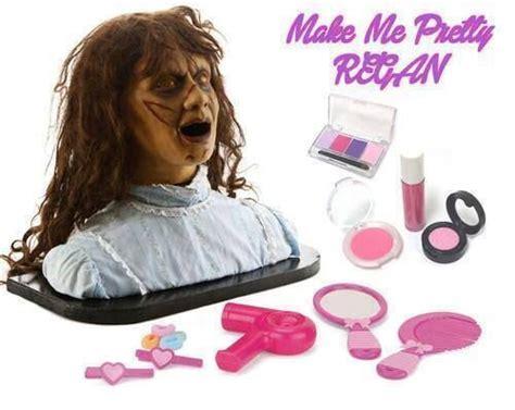 film barbie horor regan exorcist makeup barbie head halloween pinterest