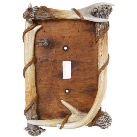 antler light switch cover antler bark light switch covers decorating lake