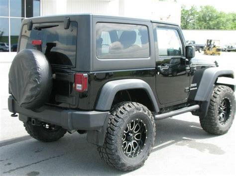 Lifted 2 Door Jeep Purchase Used Lifted 2011 Jeep Wrangler Sport 2 Door 3 8l