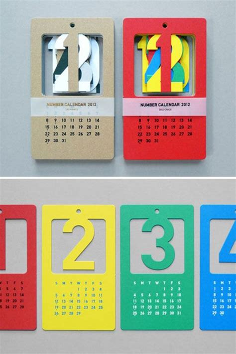 calendar layout design inspiration creative calendar designs for your christmas giveaway