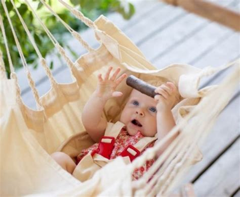 sleeping swings for toddlers natural cotton bamboo baby swing lulls baby to sleep