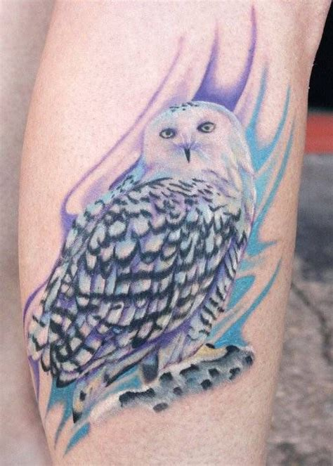 white owl tattoo white owl