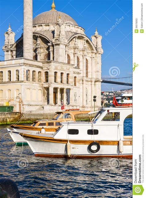 banks in istanbul ortakoy mosque stock photos image 36579263