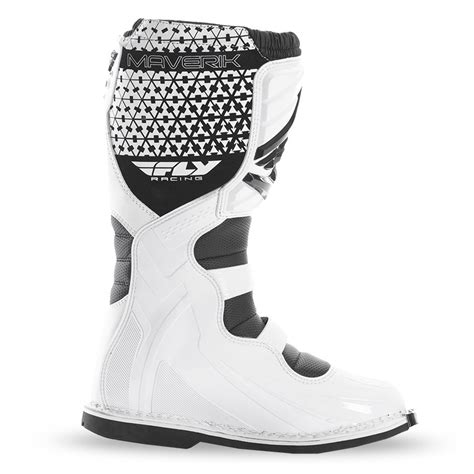 fly racing motocross fly racing mx motocross maverik mx boots white us 11