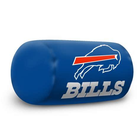 buffalo bills desk accessories buffalo bills nfl 14 quot x 8 quot beaded spandex bolster pillow
