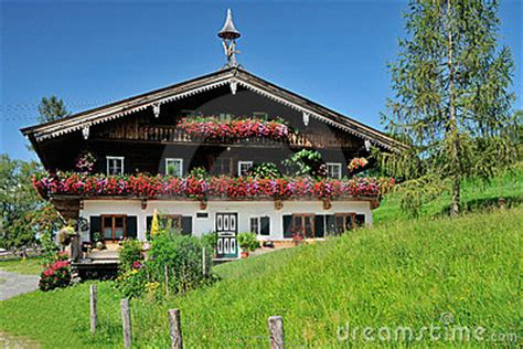small traditional house design in tirol austria tirol s house royalty free stock image image 20711786