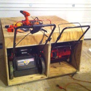 now eol snowblower storage shed ideas details image result for lawnmower storage ideas home
