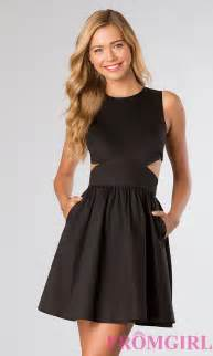 short dress little black sleeveless dress promgirl