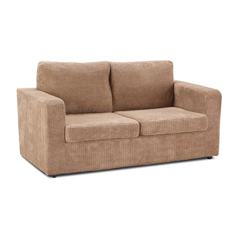 Sofa Bed Jumbo leigh jumbo cord sofa bed mocha