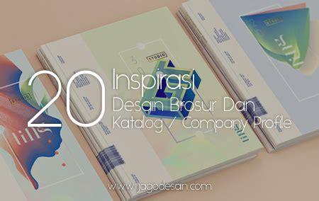 desain grafis inspirasi inspirasi 20 desain brosur dan katalog atau company