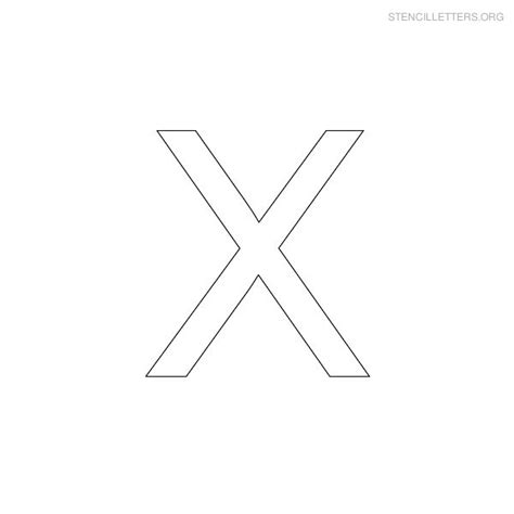 printable letter x 4 best images of letter x printables free printable