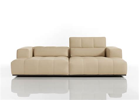 Karma Leather Sofa Contemporary Leather Sofas At Go Modern Furniture