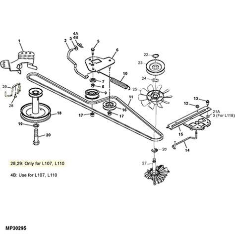 l100 belt diagram breathtaking deere l100 parts diagram photos best