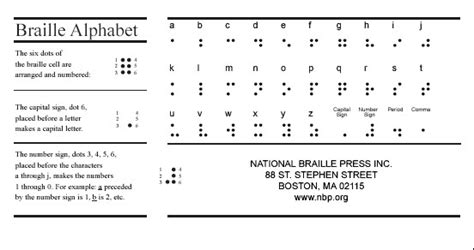 how to make braille cards lab 6 across print modalities technologies of text