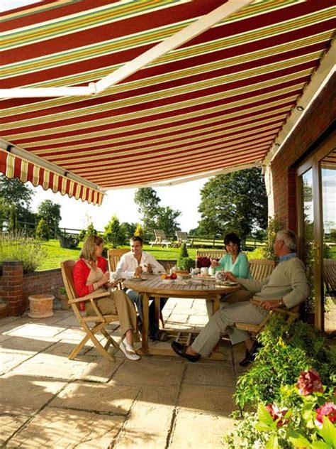 Garden Patio Awnings by Retractable Window Awnings Canopies Patio Umbrellas Gallery