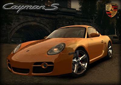 Porsche Z Antrag by Gta 4 Porsche Cayman S V2 Mod Gtainside