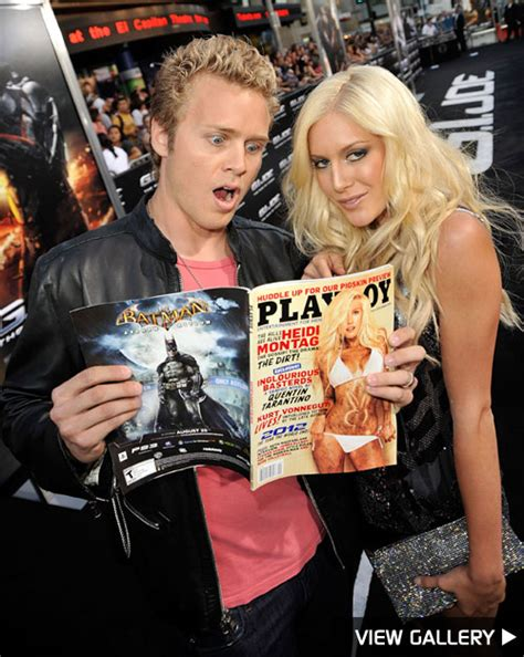 Heidi From The Spreads It For Stuff Magazine And Boy Is Spencer Pleased by Doesn T About Heidi S Spread Extratv