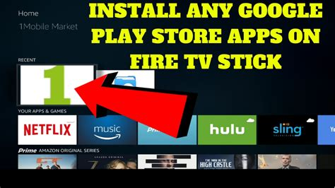 Play Store Tv Apk Install Any Play Store Apps On Tv Stick For