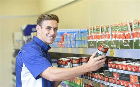 Shelf Stackers by From Shelf Stacker To Supermodel Chiselled Aldi Worker