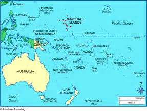 where is marshall on the map marshall islands locator map