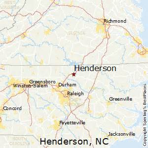 best places to live in henderson carolina