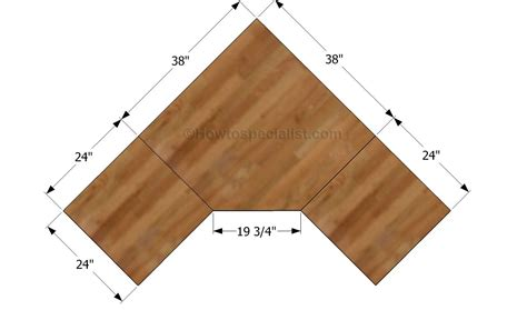 Plywood Corner Desk Hey Diy Corner Desk Plans One And 1 4 Sheet Plywood Corner Desk That Sits See More About