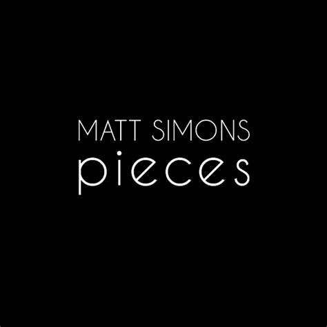Pieces Matt Simons Album