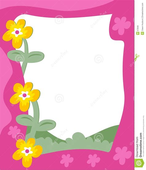 Borders Clipart 218945 Illustration By by Garden Border Stock Vector Illustration Of Outdoors