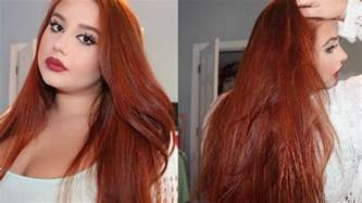 how to dye your hair with brown on the top half and on bottom half how to dye your hair copper red from medium dark brown
